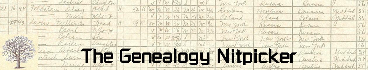 The Ginger Jewish Genealogist
