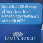 Seen in the FamilySearch booth