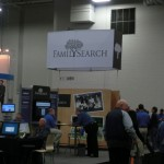 FamilySearch in the Exhibitor Hall