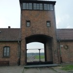 Auschwitz-Birkenau Train Entrance