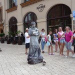 Old Town - Market Square - Living Statue