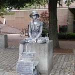 Living Statue by Faneuil Hall