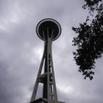 Space Needle, first view