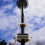 Space Needle, after lunch