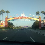 Arrival at Walt Disney World