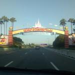 Arrival at Walt Disney World