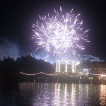 EPCOT Fireworks from the Boardwalk