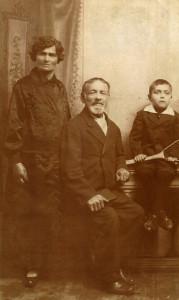 Reizel Halpert and Family