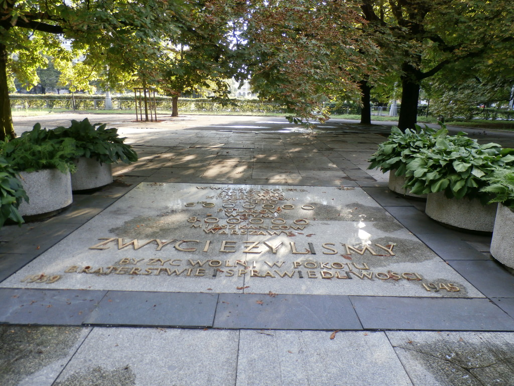 Ogród Saski - WW2 Memorial